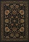 Wembley WB787 Black Area Rug by Dalyn