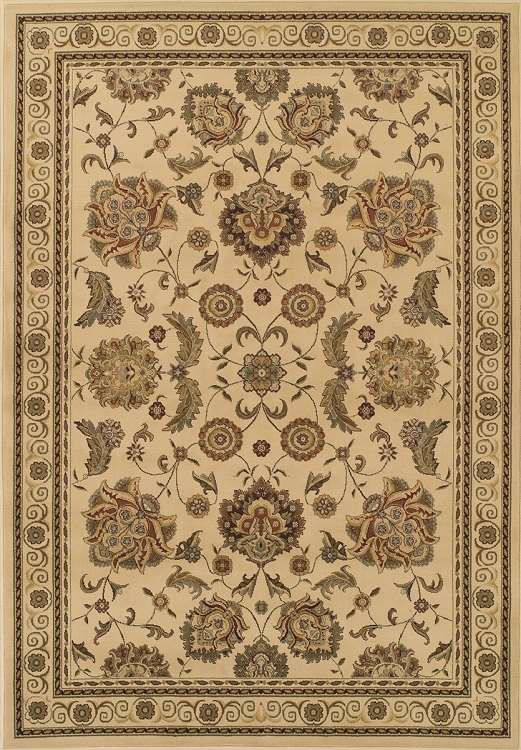 Wembley WB787 Ivory Area Rug by Dalyn