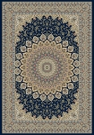 Dynamic Rugs Ancient Garden 57090-3484 Navy Area Rug