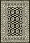 Dynamic Rugs Ancient Garden 57102-3636 Charcoal/Silver Area Rug