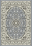 Dynamic Rugs Ancient Garden 57119-4646 Steel Blue/Cream Area Rug
