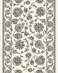 Dynamic Rugs Ancient Garden 57365-6666 Cream Grey 2'2