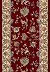 Dynamic Rugs Brilliant 7226-330 Red  2'9