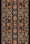 Dynamic Rugs Yazd 2803-090 Black 2'2