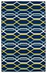 Glam GLA01-22  Navy Area Rug by Kaleen