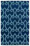 Glam GLA05-17 Blue Area Rug by Kaleen