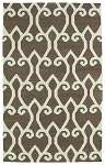 Glam GLA05-49 Brown Area Rug by Kaleen
