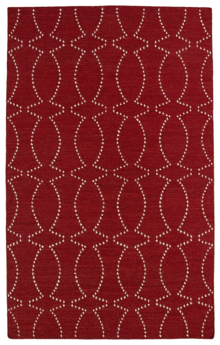 Glam GLA07-25 Red Area Rug by Kaleen