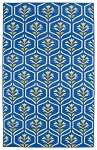 Glam GLA08-17 Blue Area Rug by Kaleen
