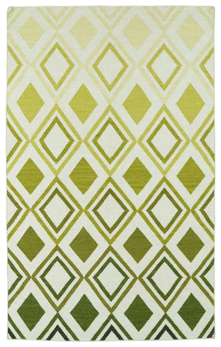 Glam GLA09-50 Green Area Rug by Kaleen