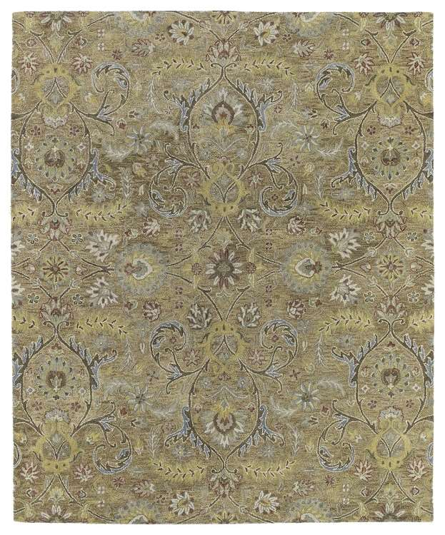 Helena 3200-05 Athena Gold Area Rug by Kaleen