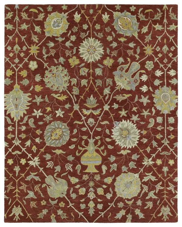 Helena 3202-25 Aphrodite Red Area Rug by Kaleen