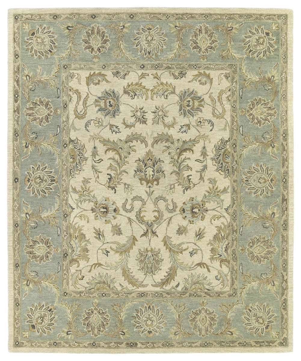 Solomon 4052-01 King David Ivory  Area Rug by Kaleen