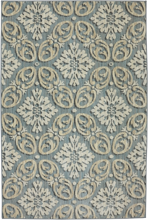 Karastan Euphoria Findon Bay Blue 90271 55002 Area Rug