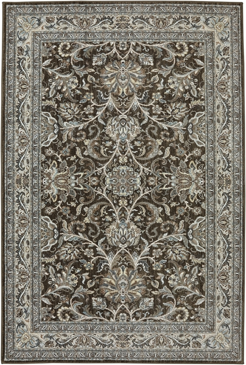 Karastan Euphoria Newbridge Brown 90262 80062 Area Rug
