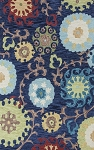Kas Anise 2422 Navy Courtney Area Rug