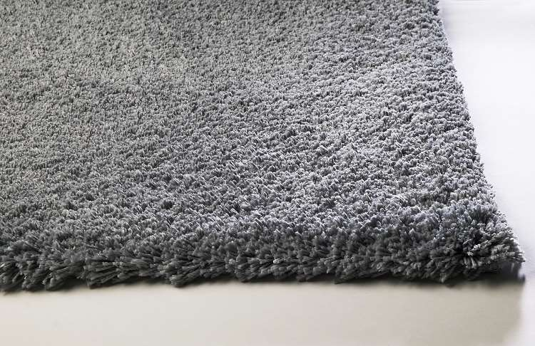 Kas Rugs Bliss Shag 1557 Grey Area Rug