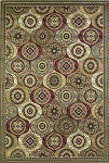 Kas Oriental Rugs Cambridge 7345 Multi Mosaic Panel Area Rug