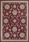 Kas Oriental Rugs Cambridge 7355 Red Allover Mahal Area Rug