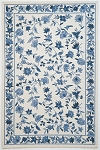 Kas Oriental Rugs Colonial 1727 Ivory/Blue Floral Area Rug
