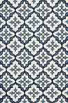 Kas Harbor 4210 Ivory/Blue Mosaic Area Rug