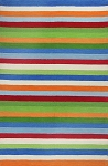 Kidding Around 435 Cool Stripes Area Rug by KAS
