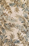 Kas Oriental Rugs Sparta 3126 Ivory Tropical Branches Area Rug