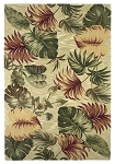 Kas Oriental Rugs Sparta 3148 Beige Palm Leaves Area Rug