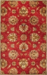 Kas Oriental Rugs Syriana 6003 Red Allover Kashan Area Rug