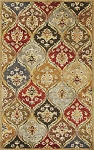 Kas Oriental Rugs Syriana 6019 Jeweltone Panel Area Rug