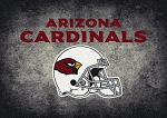 Milliken NFL Distressed Helmet 4001 Arizona Cardinals Area Rug