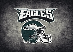 Milliken NFL Distressed Helmet 4073 Philadelphia Eagles Area Rug