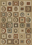 Soho 6021 Gold Area Rug - Modern Design