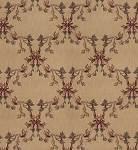 Nourison 50 to Infinity - Ashton House A01F Beige-B Custom Area Rug