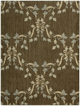 Nourison 50 to Infinity - Ashton House A01F Mink-B Custom Area Rug