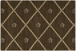 Nourison 50 to Infinity - Ashton House A03F Mink-B Custom Area Rug