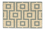 Nourison 50 to Infinity - Beverly Hills Windsor Square Linen-B Custom Area Rug
