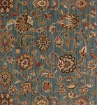 Nourison 50 to Infinity - Grand Parterre Parth Kashan PT01 Blue-B Area Rug