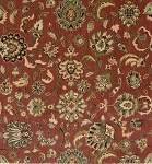Nourison 50 to Infinity - Grand Parterre Parth Kashan PT01 Rust-B Area Rug