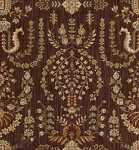 Nourison 50 to Infinity - Grand Parterre Parth Sarouk PT02 Brown-B Area Rug
