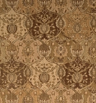 Nourison 50 to Infinity - Grand Parterre Parth Grand Moghul PT04 Gold-B Area Rug