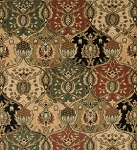 Nourison 50 to Infinity - Grand Parterre Parth Grand Moghul PT04 Multi-B Area Rug
