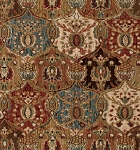 Nourison 50 to Infinity - Grand Parterre Parth Grand Moghul PT04 Panel-B Area Rug