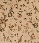 Nourison 50 to Infinity - Grand Parterre Parth Grand Flora VA01 Beige-B Area Rug