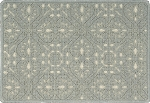 Nourison 50 to Infinity - Grosse Pointe Charlevoix Gulf/Ivory-B Custom Area Rug