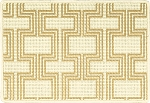 Nourison 50 to Infinity - Grosse Pointe Chandler Ivory/Sunrise-B Custom Area Rug