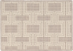 Nourison 50 to Infinity - Grosse Pointe Chandler Pearl/Ivory-B Custom Area Rug