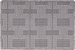 Nourison 50 to Infinity - Grosse Pointe Chandler Steel/Platinum-B Custom Area Rug