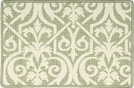 Nourison 50 to Infinity - Grosse Pointe Lochmoor Meadow/Ivory-B Custom Area Rug