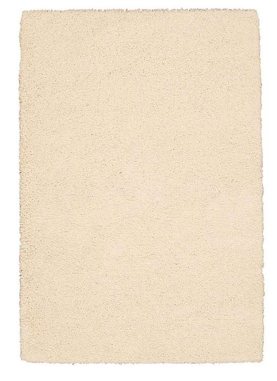 Amore  Shag AMOR1 Cream Area Rug by Nourison